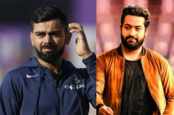 Tollywood Hero Jr Ntr Joins Hand With Indian Captain Virat Kohli
