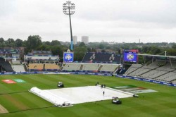 New Zealand Vs South Africa Match Toss Delayed Due To Wet Outfiled