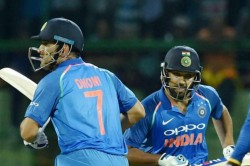 India Vs West Indies World Cup 2019 Rohit Sharma 2 Big Hit Away From Breaking Dhonis Odi Record