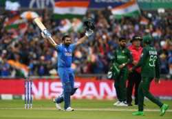 India Vs Pakistan Daddy Hundred Man Rohit Sharma Enacts Lead Act To Perfection