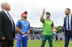Cwc 2019 Sa Vs Afg Live Score South Africa Decide To Bowl First