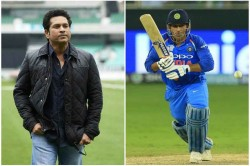 Icc Cricket World Cup 2019 Dhoni Fans Criticize Sachin Sachin