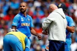 Selectors Got Positive Signal From The Medical Team That Dhawan Is Likely To Be Fit