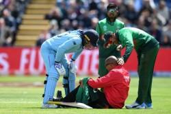Icc Cricket World Cup 2019 Jason Roy Hits 9th Hundred And Knocks Down Umpire Joe Wilson