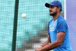 Watch All Rounder Vijay Shankar Is Participate In Net Practice
