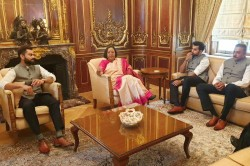 Icc Cricket World Cup 2019 Virat Kohli And Team India Visit High Commissioners Residence