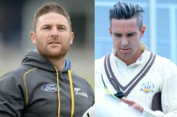 Brendon Mccullum Kevin Pietersen Engage In Banter Over New Zealand