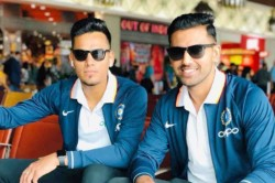West Indies Tour Rahul Chahar Joins Brother Deepak Chahar In India S T20 Squad