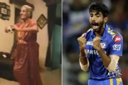 Old Lady Emulates Jasprit Bumrah S Bowling Action And Run Up
