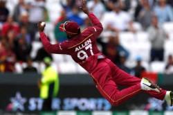Fabian Allen Taken Brilliant Catch During West Indies Vs Afghanistan