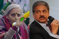Year Old Superfan Charulata Patel Wins Over Anand Mahindra Will Pay Her Tickets For India Matches