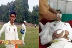 Year Old Kashmiri Cricketer Dies After Being Hit By Ball In Neck