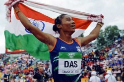Poznan Athletics Grand Prix Indian Sprinter Hima Das Wins Gold 200m Rade