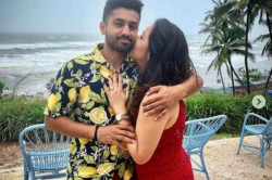 The Grand Proposal Karun Nair Gets Engaged To Longtime Girlfriend