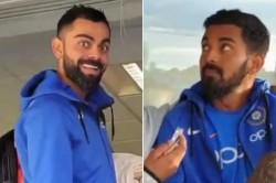 Icc Cricket World Cup 2019 Virat Kohli Crashes Kl Rahul S Interview