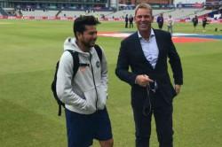 Team India Spinner Kuldeep Yadav Met Legendary Leg Spinner Shane Watson
