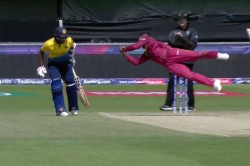 Icc Cricket World Cup 2019 Fabian Allen Takes A Blinder To Dismiss Kusal Mendis