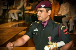 Twitter Hails Lt Colonel Ms Dhoni After He Takes Break From Cricket To Serve His Territorial Army