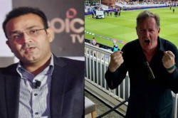 After England S World Cup Triumph Piers Morgan Digs Out Virender Sehwag S Old Tweet