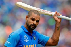 Shikhar Dhawan Picks Up Bat For The 1st Time After Finger Injury At World Cup