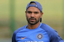 Shikhar Dhawan Fully Fit And Available Selection For West Indies Tour