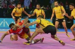 Pro Kabaddi League Season 7 U Mumba Beat Telugu Titans 31 25 In The Opening Match