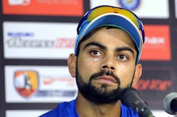 Icc Cricket World Cup 2019 India Vs New Zealand Virat Kohli Reacts To Reporter