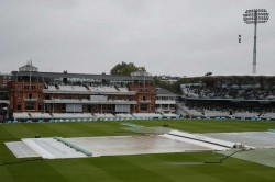 England Vs Australia Lord S Test Match Day Is One Abandoned Without A Ball Bowled