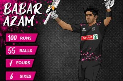 Pakistan S Babar Azam Smashes 55 Ball Century In T20 Blast