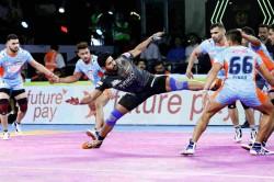 Pro Kabaddi League 2019 Baldev Picks Up Another High 5 As Bengal Warrioors Edge Out U Mumba