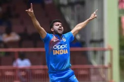 Pace Bowler Deepak Chahar Scripts A New Record Against West Indies In T20is