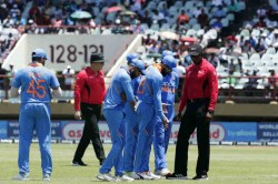 India Vs West Indies 1st Odi Match Abandoned Due To Rain Wet Outfield In Guyana