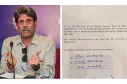 Cac Trolled For Misspelling Mike Hesson S Name In Official Bcci Letter