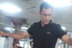 Lieutenant Colonel Ms Dhoni Completes 15 Day Army Stint Spotted At Leh Airport