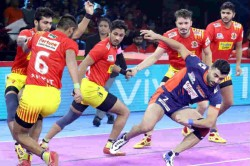 Pro Kabaddi League 2019 Clinical Jaipur Pink Panthers See Off Gujarat Fortuenegaints To Top Table