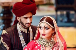 Video Pakistani Cricketer Hasan Ali Indian Engineer Get Married In Dubai