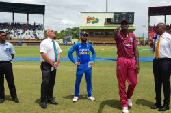 India Vs West Indies 1st Odi Live Score India Win The Toss And Elect To Field