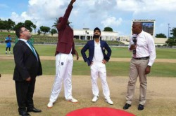 India Vs West Indies Live Score 1st Test Day 1 West Indies Have Won The Toss Opted To Field
