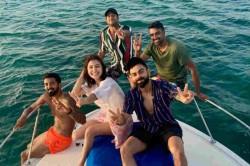 R Ashwin Kl Rahul Join Virat Kohli And Anushka Sharma On Caribbean Cruise