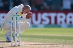 Watch How Nathan Lyon Let The Ashes Urn Slip Out Of His Hands
