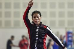 Mary Kom Lovlina Make World C Ships Team Aggrieved Nikhat Zareen Demands Trial
