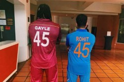 Rohit Sharma Shared Instagram Photo With Chris Gayle