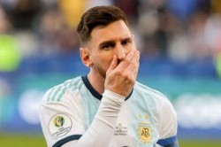 Footballer Lionel Messi Banned From International Football For Three Months
