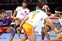 Pkl 2019 Up Yoddha See Off Puneri Paltan S Late Charge To Secure Win