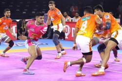 Pkl 2019 Jaipur Pink Panthers Cruise To Easy Win Over Puner Paltan