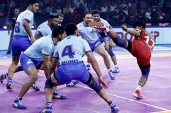 Pkl 2019 Pkl 2019 Tamil Thalaivas Lose To Bengaluru Bulls In 1st Home Game