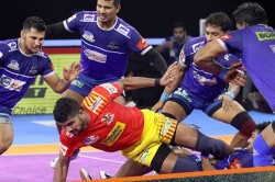 Pkl 2019 Haryana Steelers Rise To Third Spot After Trash Gujrat Fortunegiants