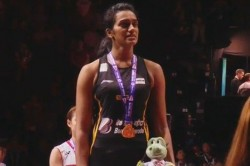 Pv Sindhu Defeated Nozomi Okuhara Scripts History With Gold Medal In World Championships