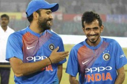 India Vs West Indies Yuzvendra Chahal Funny Comment After Rohit Harma Interviews Rishab Pant
