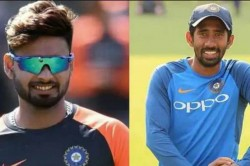 India Vs West Indies Saha Should Play 2nd Test Instead Of Pant Sved Kirmani